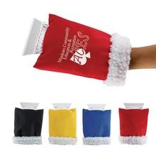 Custom Ice Scraper Hand Mittens
