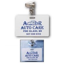 Custom ID Card with Badge Clip