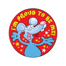 I'm Proud To Be Me Stickers