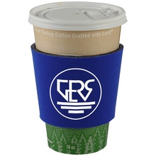 Insulated Coffee Wraps with Imprint