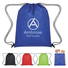 Insulated Drawstring Cooler Bag with Personalization