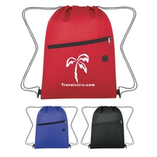 Insulated Drawstring Sports Pack with Imprint