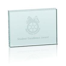 Custom Jade Horizontal Paperweight