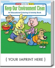 Keep Our Environment Clean Coloring & Activity Book