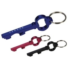 Key Shape Promotional Bottle Opener Key Rings