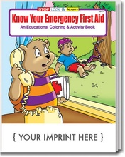 Know Your Emergency 1st Aid Coloring & Activity Book