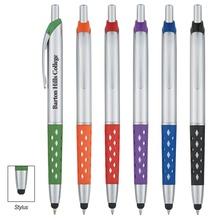 Lattice Grip Promotional Stylus Pens
