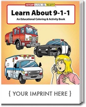 Learn About 911 Coloring & Activities Book