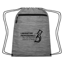 Medical Lab Professionals Drawstring Backpack