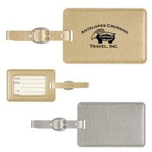 Metallic Luggage Tags