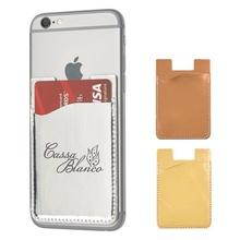 Custom Metallic Phone Wallets