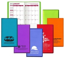 Monthly Pocket Planner with Custom Translucent Cover - 2022
