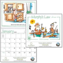 Murphy's Law 2022 Personalized Wall Calendars