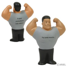 Muscle Man Logo Stress Balls