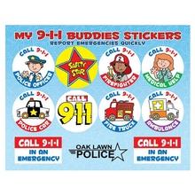 My 9-1-1 Buddies Stickers