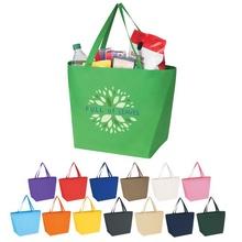 Non-Woven Budget Custom Shopper Tote Bag