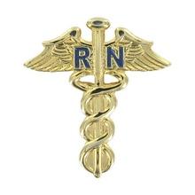 Nurse Caduceus Lapel Pin