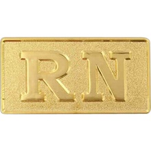 Nurse RN Lapel Pin