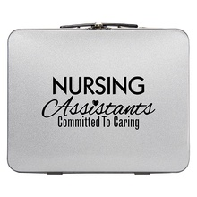 Nursing Assistants Throwback Tin Lunch Box