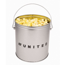 Custom One Gallon Tin of Butter Popcorn