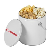Custom One Gallon Tin - Popcorn Trio