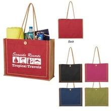 Paradise Jute Custom Tote Bags