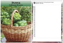 Pepper Seed Packs
