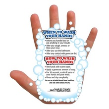 Personalized Hand Washing Reminder Magnets