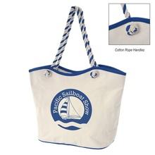 Personalized Maui 8 oz. Laminated Cotton Tote Bags
