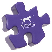 Personalized Puzzle Piece Stress Balls