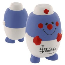 Custom Printed Pill Nurse Stress Balls