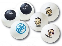 Custom Printed Ping Pong Balls