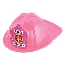 Pink Junior Firefighter Toy Helmets