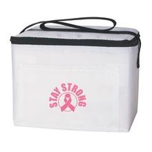 Pink Ribbon Awareness Lunch Bag
