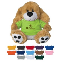 Plush Big Paw Dog with Shirt - 8-1/2""