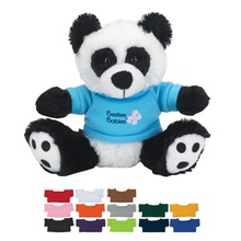 Plush Big Paw Panda with Shirt - 6""