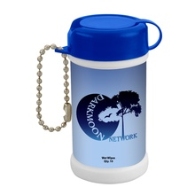 Custom Printed Pocket Size Wet Wipe Canister