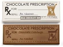 Prescription Chocolate Bars