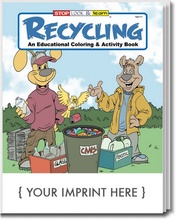 Recycling Coloring and Activity Book