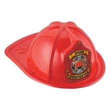 Red Junior Firefighter Plastic Hats