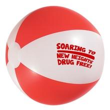 Red Ribbon Week Beach Balls