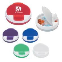 Personalized Round Pill Holder