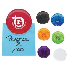 Round Shape Promotional Clips