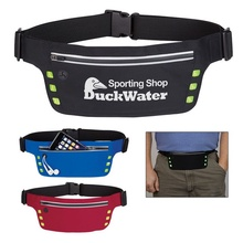 Custom Running Belt with Safety Strip & Lights