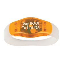Say Boo To Drugs Safety Light Wristband