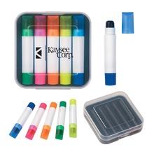 Set of 5 Gel Wax Highlighters with Custom Box