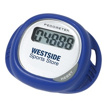 Simple Shoe Pedometer with Logo