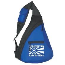 Sling Backpack Volunteer Gift with Slogan