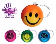 Custom Smiley Face Mood Key Chain