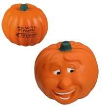 Custom Smiling Pumpkin Stress Balls
